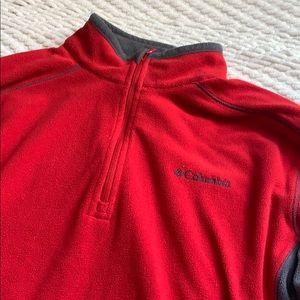 Men's Columbia Fleece 1/4 Zip